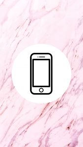 Marble Pink Phone